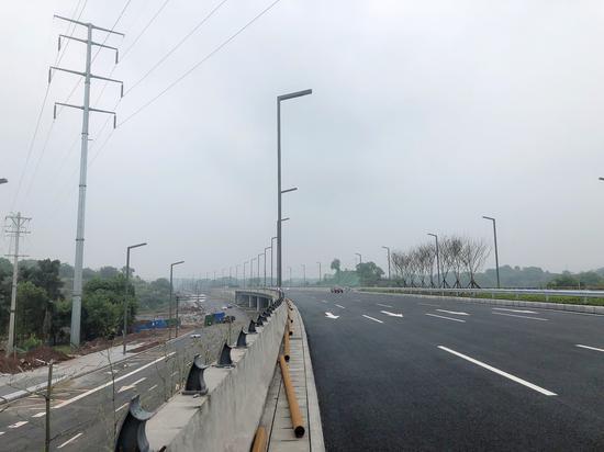 """15分鐘""""飆""""到納溪 瀘州城區又一條快速通道即將通車"""