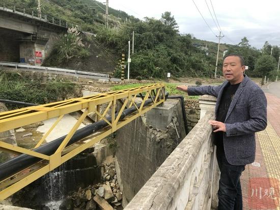 """300米管道""""装""""了4年 广元利州区赤化村562户村民用上天然气"""