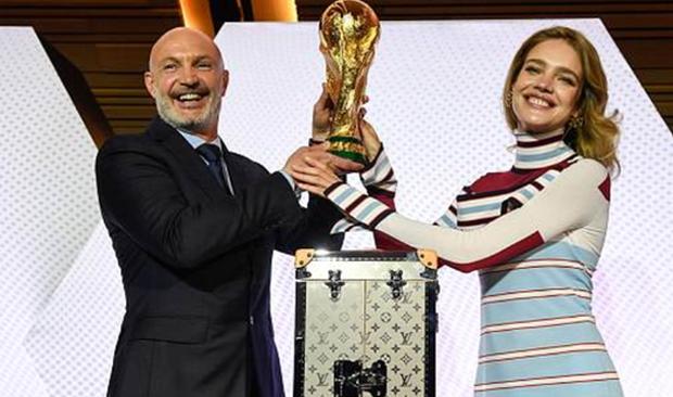 LV為2018世界杯制作獎杯專用箱