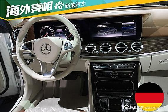在内饰部分,全新E级的设计以豪华舒适为主。高配车型中控台和仪表盘采用12.3英寸双液晶显示屏搭配,科技感十足,分辨率达到1920*720。中控台两侧的空调出风口、带触摸控制的全新方向盘以及座椅等均为全新E级特有的全新设计。