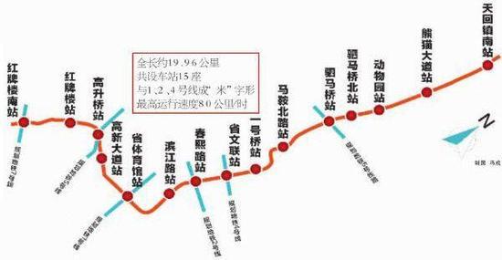 地铁3号线一期 4月空载试运行图片