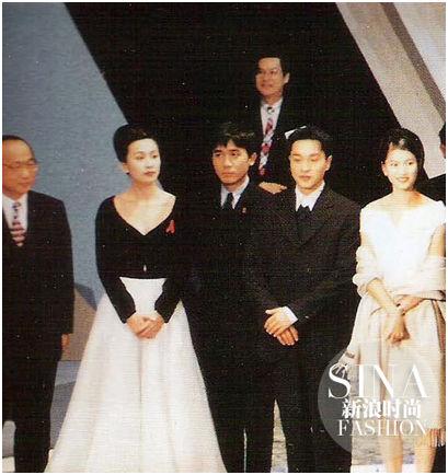 刘嘉玲穿19年前的裙子身材不走样