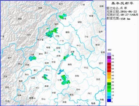 未来6小时成都将下大雨。
