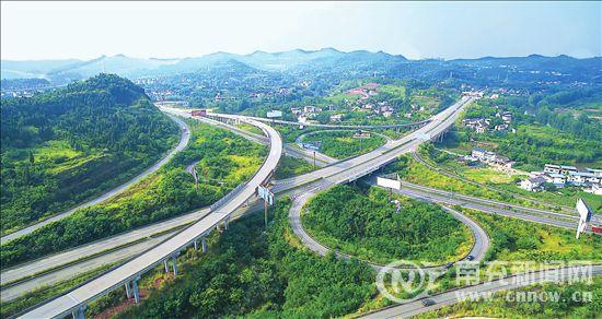 南充向交通枢纽城市跃升