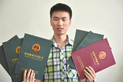 电子科技大学大三学生徐帆云已有11项国家专利