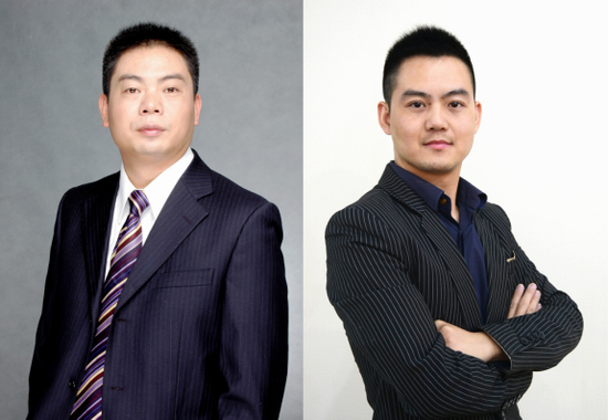 成都银光软件有限公司 CEO袁诚博士   CTO 李博文