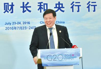 财政部副部长朱光耀。