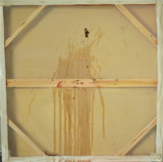 《悖论之1》 布面油画 80x80cm 2009年