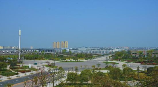 泸县经济开发区一隅