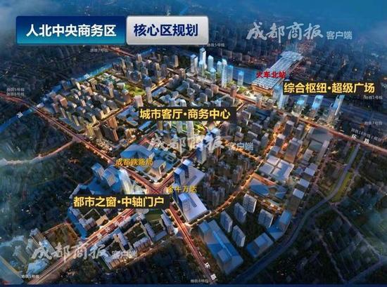 成都火车北站未来规划蓝图