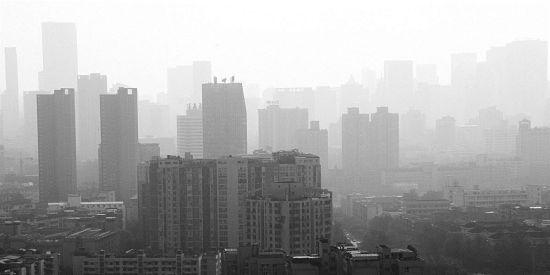 成都雾霾天
