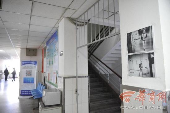 医院贴出小偷照片