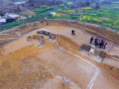 考古发掘现场