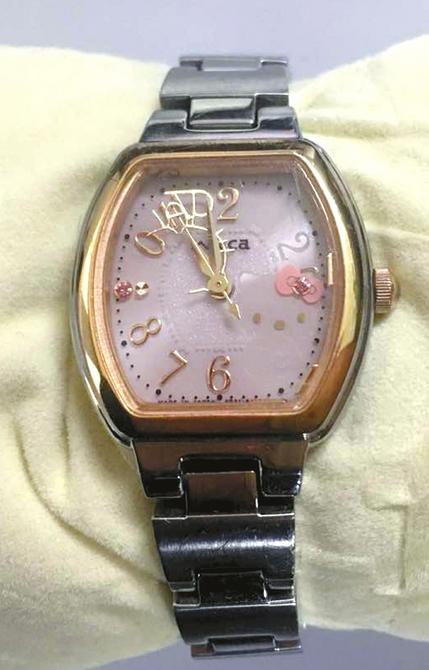 去年6月何女士在日本购买的手表, <a href=