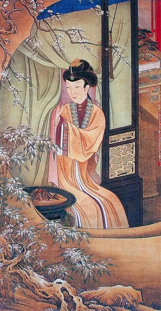 故宫藏画 雍正十二妃
