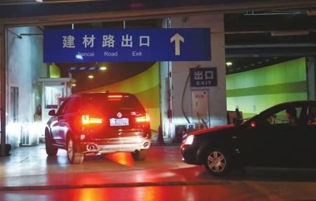 成都东站地下停车场改造后将设置ETC收费。