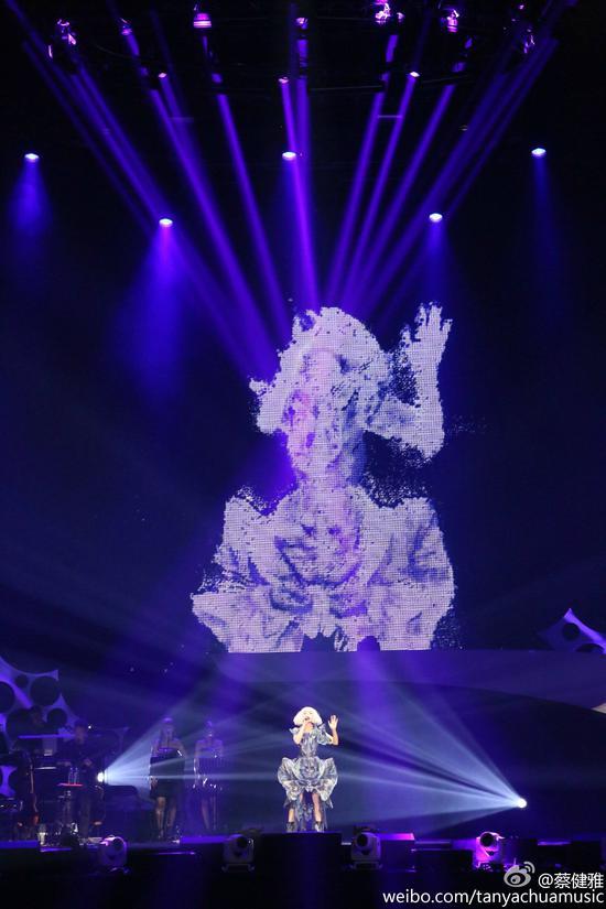 """蔡健雅""""列穆尼亚 LEMURIA """"2017巡回演唱会--成都站"""