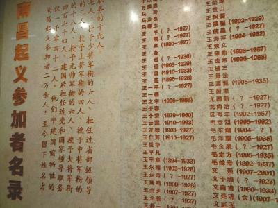 7月28日,经过修缮的南昌八一起义纪念馆重新开馆,1042名起义参加者的名字镌刻在名录墙上,供后人瞻仰。熊浩然摄
