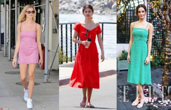 原来博主们穿得这些的裙子 都有一个共同的名字