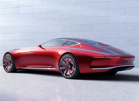 此前发布的梅赛德斯-迈巴赫 6概念车