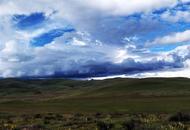航拍海拔4000米南莫且湿地美哭了