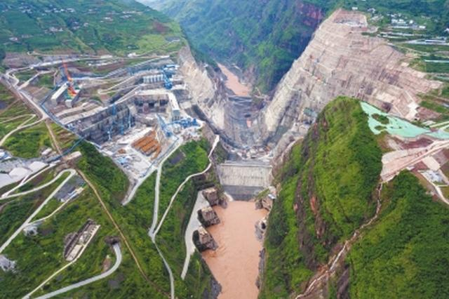在建规模世界第一 白鹤滩水电站主体全面开工