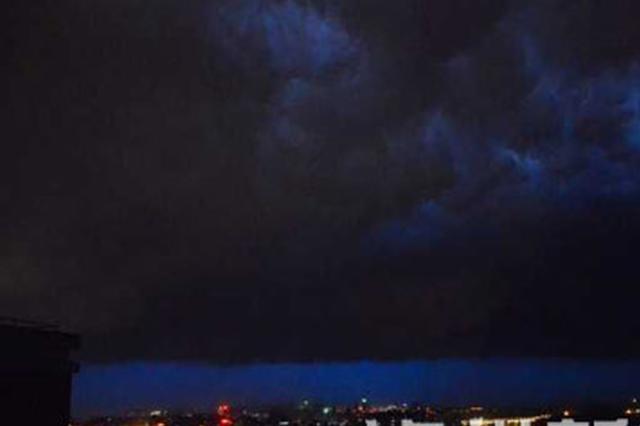 降温降雨终于来了 今日起泸州普降大雨局部暴雨