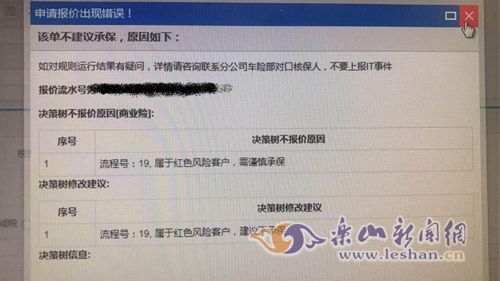 """王先生被列入""""红色风险客户""""(当事人供图)"""