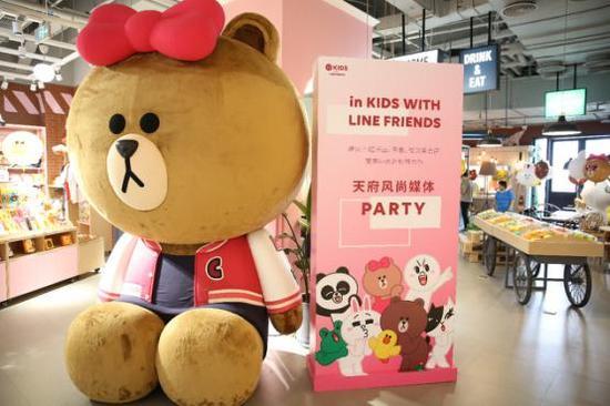 银泰in99高端儿童游乐品牌 in KIDS风尚电音派对