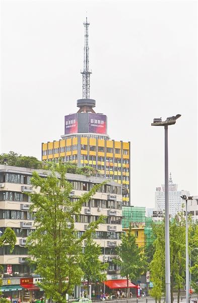 东胜街原四川广播电视台旧址正改造为少城视井文创产业园区