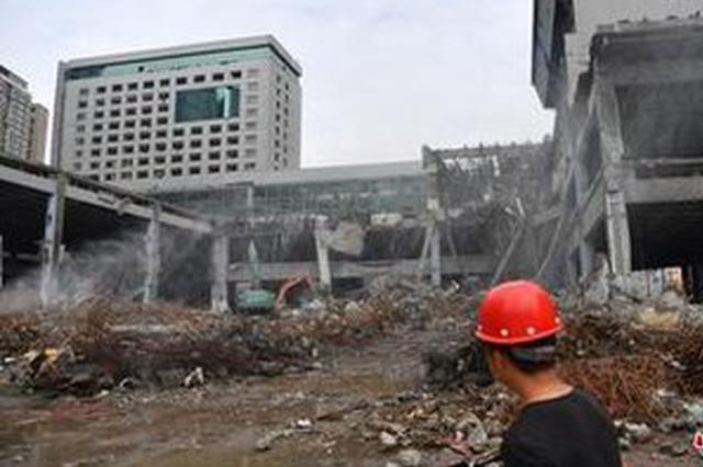 成都沙湾会展中心一期工程 预计11月中旬拆除完毕