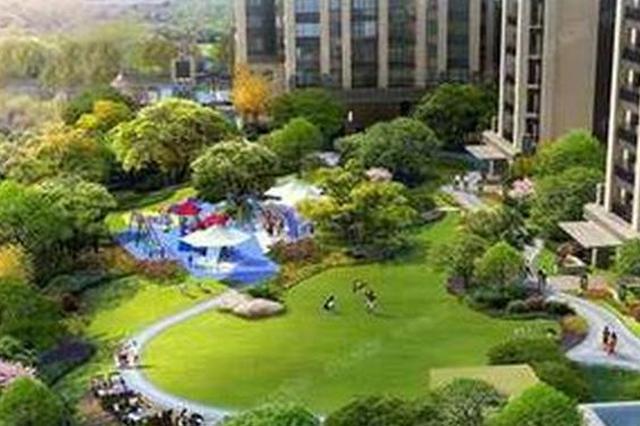 圣灯公园、二仙桥公园初具雏形 成都市民提前赏花观绿