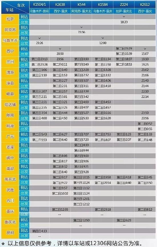 今起 成都、重庆至兰州每天增至13对
