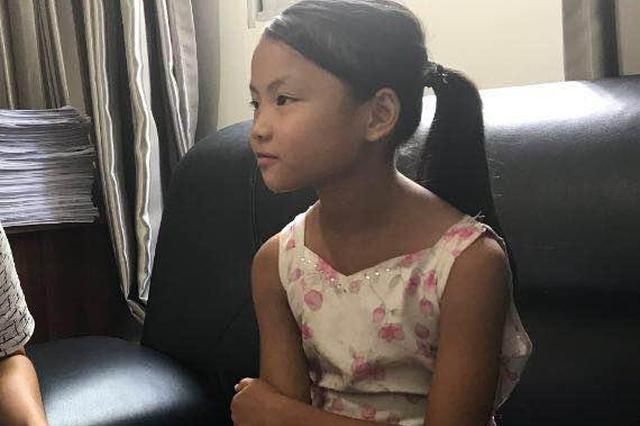 急扩!自贡10岁女孩回家途中走失已30小时