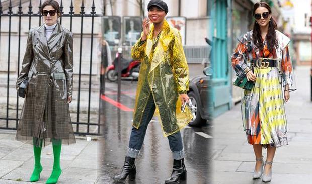这么时髦的雨衣 你怎么舍得下雨时才穿