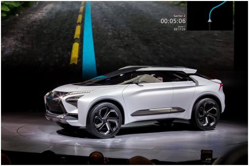 Evolution概念车-三菱发布全球品牌战略及纯电动概念SUV高清图片