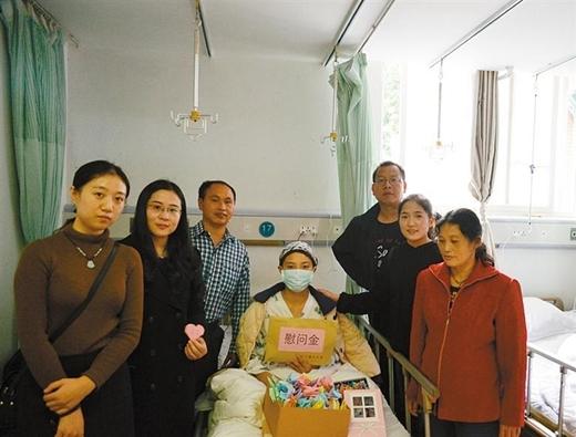农大19岁女生患白血病 师生众筹32万助她战胜病魔