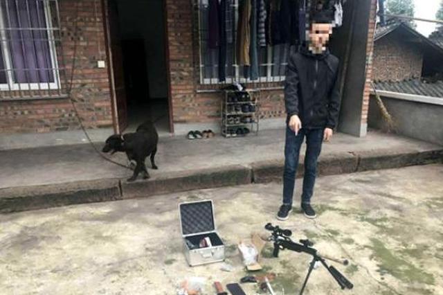 四川警方破获一起系列涉枪案追缴枪支7把