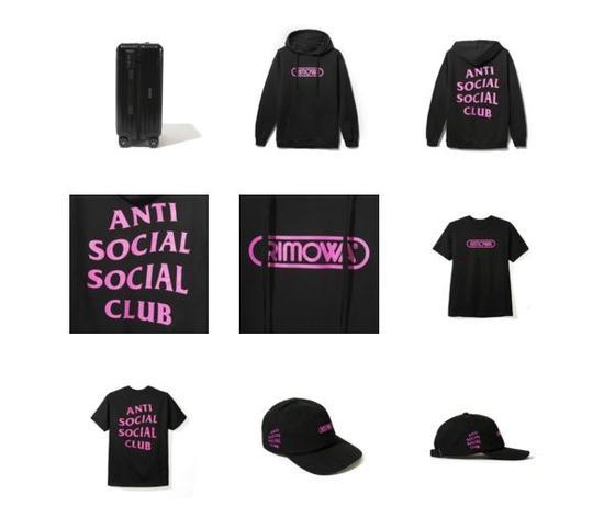 RIMOWA X Anti Social Social Club合作款