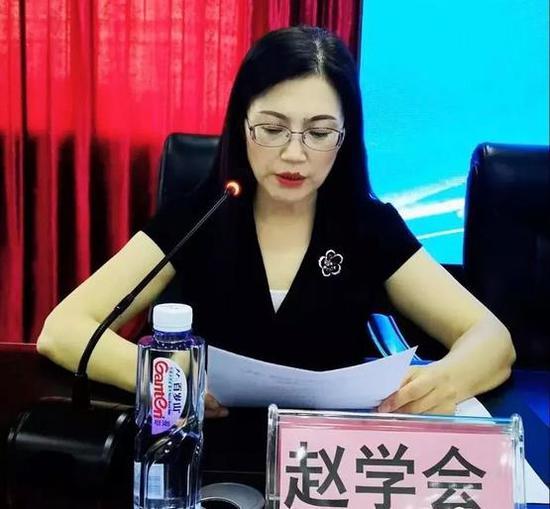 西充县妇幼保健院院长赵学会