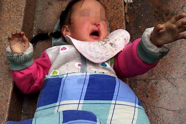 自贡3岁女童从5楼阳台坠下 粗心妈妈把孩子一人丢在家