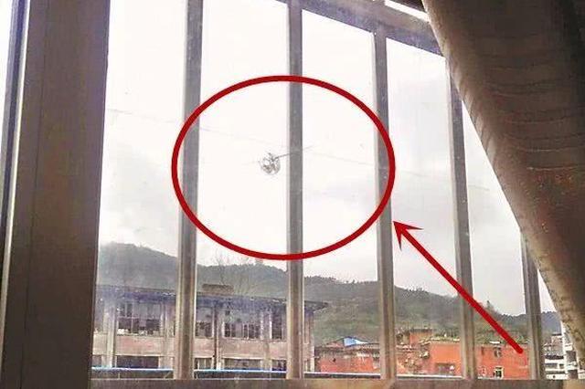 """达州住户家玻璃窗出现""""弹孔"""" 警方调查真相惊人"""