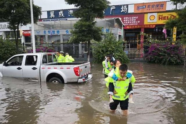 强降雨导致四川局部受灾 乐山市3600余受威胁群众转移