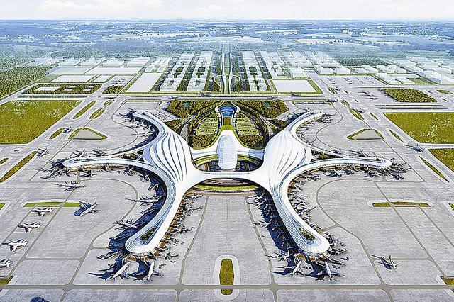 成都天府国际机场配套工程全面开工建设