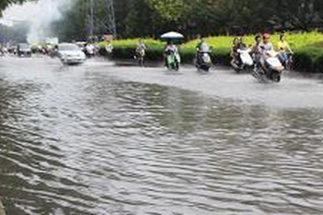 强降雨导致四川部分地区受灾 目前全省江河水势平稳