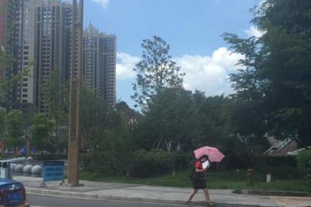 内江峨眉山等8市县发布高温橙色预警
