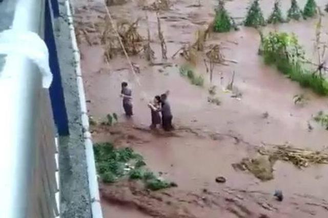 四川宜宾屏山突发山洪 150人已奔赴受灾乡镇救援