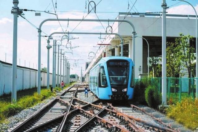 成都有轨电车蓉2号线首开段10日启动动车调试