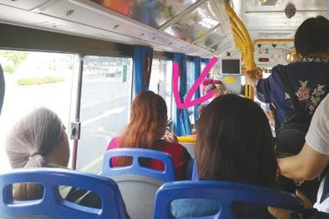 601路公交车上演霸座:人在几站外座位先占