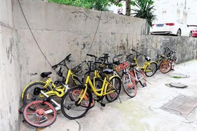 成都重拳清理破损闲置单车 10月15日至少回收10万辆